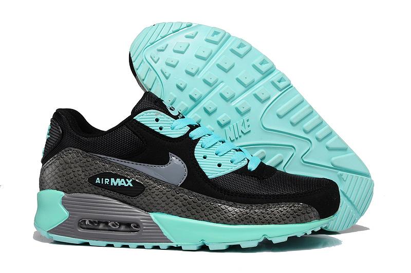 air max 90 gris vert